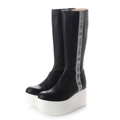 ディガウト DIGOUT MARC (Original Leather Platform Boots) (BLACK)