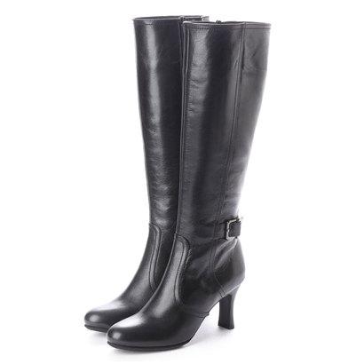 【アウトレット】シューズラウンジ shoes lounge 【本革】ロングブーツ 2989104B (ブラック)