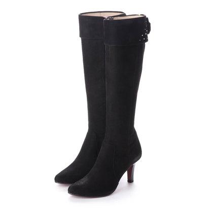 【アウトレット】シューズラウンジ shoes lounge 【本革】ロングブーツ 9732SC374BLS (ブラック)