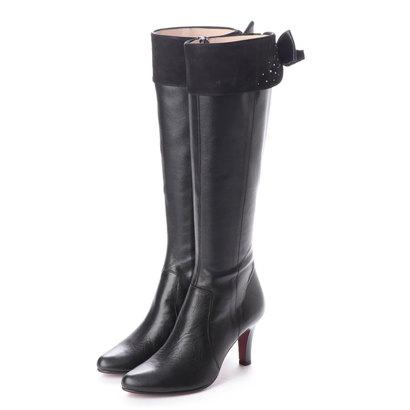 【アウトレット】シューズラウンジ shoes lounge 【本革】ロングブーツ 9732SC364BL (ブラック)