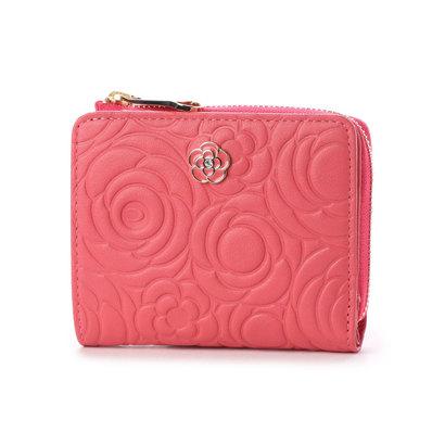 クレイサス CLATHAS カメル Lファスナー2つ折り財布 (ピンク)