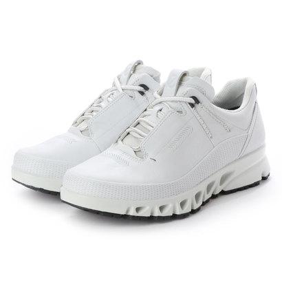 エコー ECCO Mens MULTI-VENT Outdoor Shoe (WHITE)