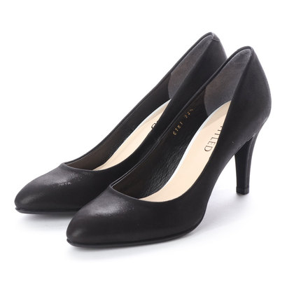 アンタイトル シューズ UNTITLED shoes パンプス (ブラック)