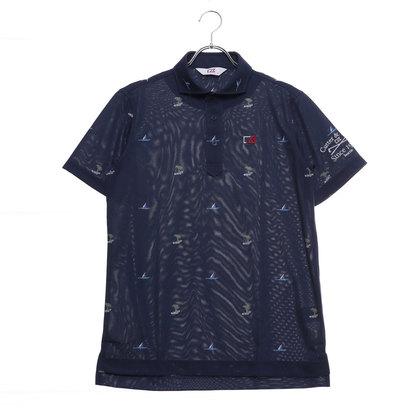 カッターアンドバック CUTTER&BUCK メンズ ゴルフ 半袖シャツ ハンソデシヤツ(ニツト) CGMNJA02