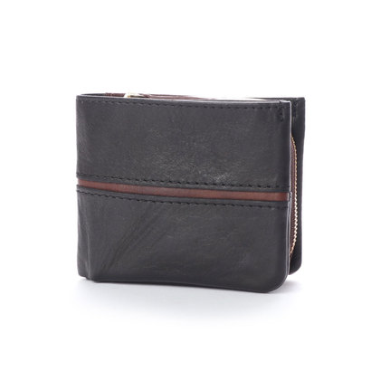 バギーポート BAGGY PORT 【MORITA & Co.】 フルクロームツートン 二つ折財布 (ブラック)