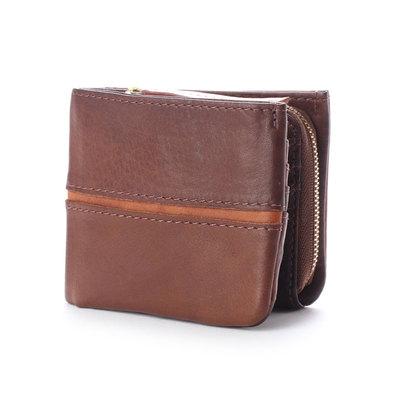 バギーポート BAGGY PORT 【MORITA & Co.】 フルクロームツートン 二つ折財布 (ブラウン)