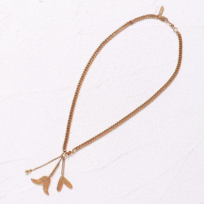 【アウトレット】ナノ ユニバース NANO UNIVERSE outlet 【CHLOE】LB/KEIRA Short Necklace (ゴールド)
