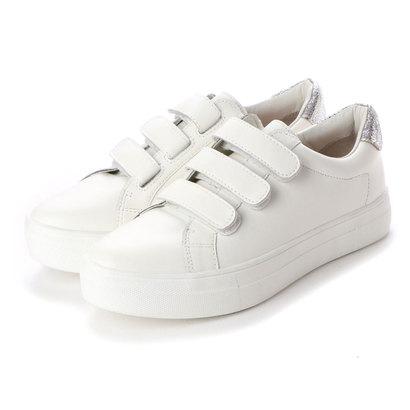 ヌエール nouer PECHINCHAR ベルクロスニーカー(White) (ホワイト)
