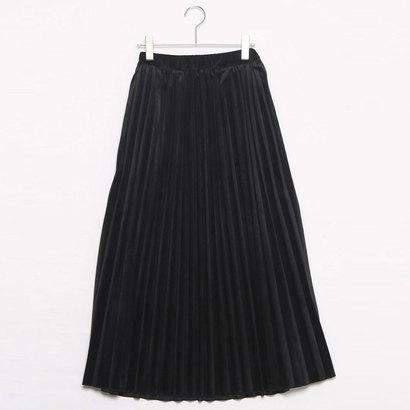 イタリコ ITALICO JUDDY CORN ジュディーコーン プリーツロングスカート (ブラック)