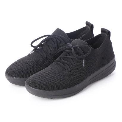 フィットフロップ fitflop F-SPORTY UBERKNIT SNEAKERS (All Black)