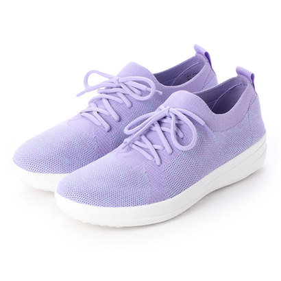 フィットフロップ fitflop F-SPORTY UBERKNIT SNEAKERS (Frosted Lavender Mix)