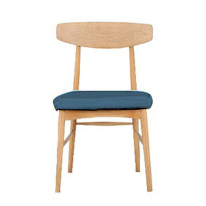 IDC OTSUKA/大塚家具 椅子 ユノA カバー布#2 WO色 ブルー (ブルー)【返品不可商品】