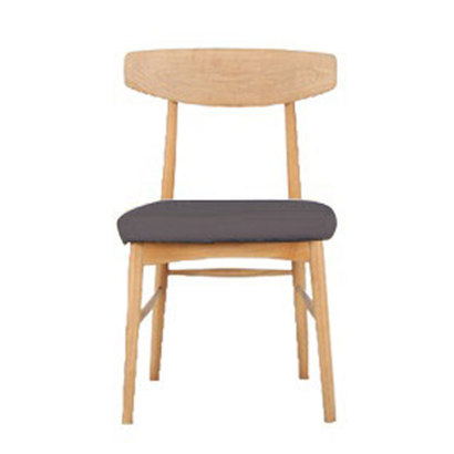IDC OTSUKA/大塚家具 椅子 ユノA カバー布#2 WO色 ブラウン (ブラウン)【返品不可商品】