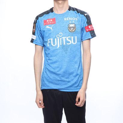 プーマ PUMA メンズ サッカー/フットサル ライセンスシャツ フロンターレ 19 ホーム ハンソデゲームシャツ 762620