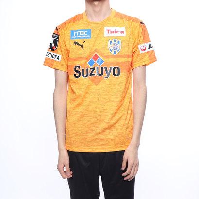 プーマ PUMA メンズ サッカー/フットサル ライセンスシャツ エスパルス 19 ホーム ハンソデゲームシャツ 762633