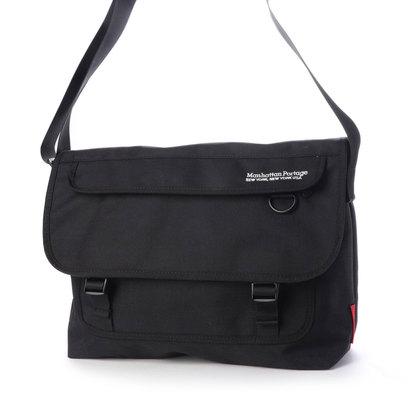 マンハッタンポーテージ Manhattan Portage Two Bridges Messenger Bag (Black)