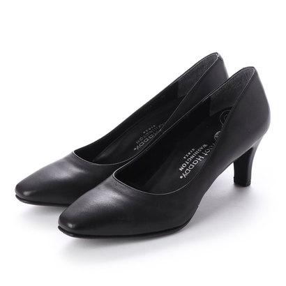 ワシントンフットハッピー WASHINGTON Foot Happy 850-F56121 2Eベーシックパンプス (ブラック)