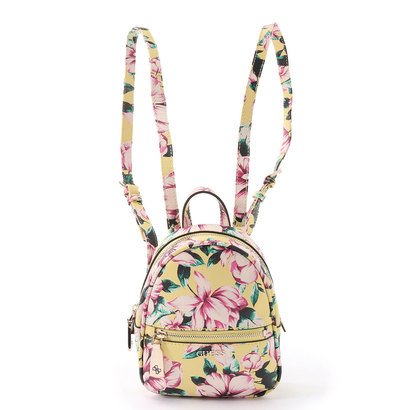 ゲス GUESS DETAIL FLORAL MINI BACKPACK (FLORAL MULTI)