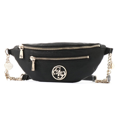 ゲス GUESS DETAIL BELT BAG (BLACK)