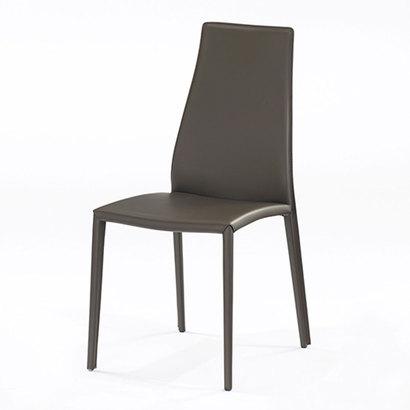 IDC OTSUKA/大塚家具 椅子 CS/1484(アイーダ プラス) 革張り マットブラウン (ブラウン)【返品不可商品】