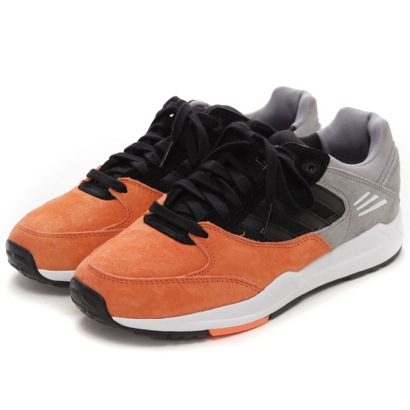 【アウトレット】アディダス オリジナルス adidas Originals atmos TECH SUPER EF W(ORANGE/BLACK/GRAY)