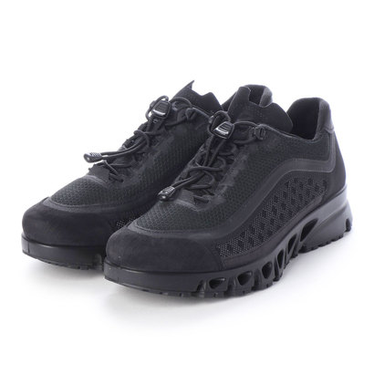 エコー ECCO Mens MULT-VENT Outdoor Shoe (BLACK/BLACK)