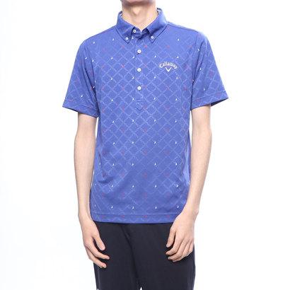 キャロウェイ Callaway メンズ ゴルフ 半袖シャツ ロープガラジャカードB.Dカラーシャツ 2419157520