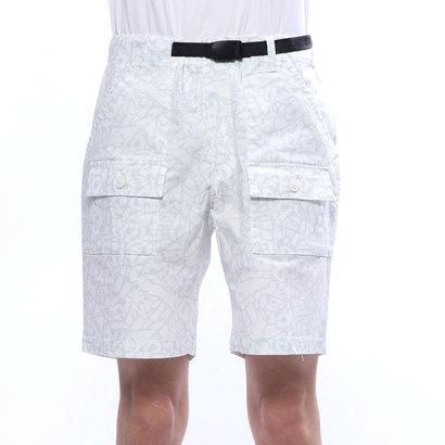 【アウトレット】ニューバランス new balance メンズ ゴルフ ショートパンツ ハイパワーストレッチグラフィティシューズプリントショートパンツ 0129138002