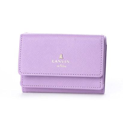 ランバン オン ブルー LANVIN en Bleu リュクサンブール 3つ折りミニ財布 (ラベンダー)