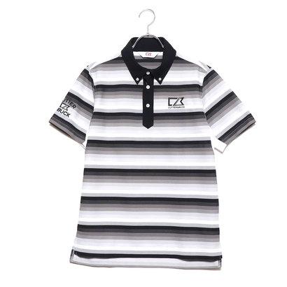 カッターアンドバック CUTTER&BUCK メンズ ゴルフ 半袖シャツ ハンソデシヤツ(ニツト) CGMNJA16