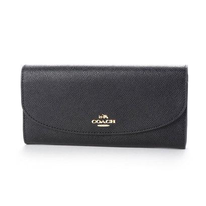 コーチ COACH F54009CRSGR LTH SLIM ENV 財布 (ブラック)