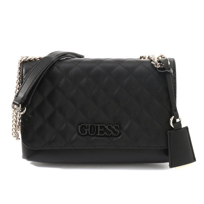 ゲス GUESS ELLIANA CONVERTIBLE CROSSBODY FLAP (BLACK)