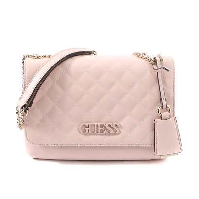 ゲス GUESS ELLIANA CONVERTIBLE CROSSBODY FLAP (BLUSH)