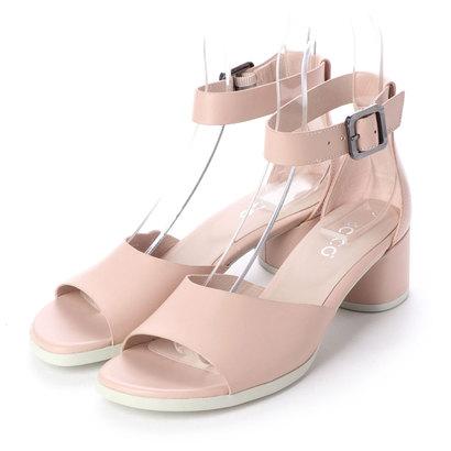 エコー ECCO SHAPE BLOCK SANDAL 45 Shoe (ROSE DUST)