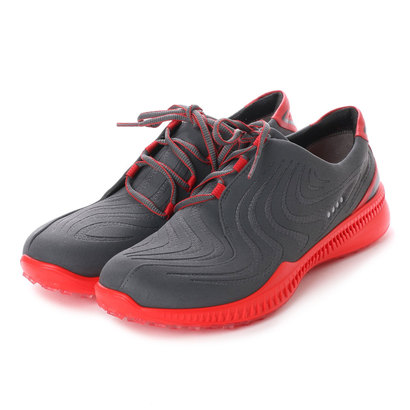 【アウトレット】エコー ECCO M Golf S-Drive (DARK SHADOW/TOMATO)