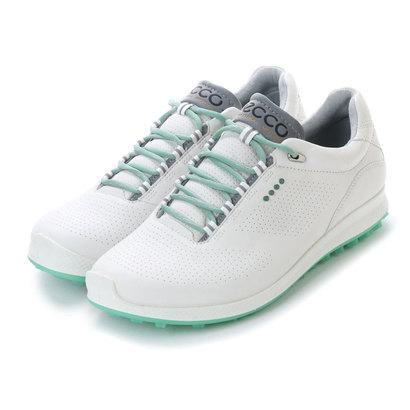 【アウトレット】エコー ECCO W. Golf Biom Hybrid 2 (WHITE/GRANITE GREEN)