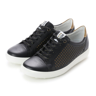 エコー ECCO W. Golf Casual Hybrid (BLACK)