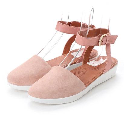 【アウトレット】フィットフロップ FitFlop COVA CLOSED-TOE SANDALS - SUEDE (Dusky Pink)