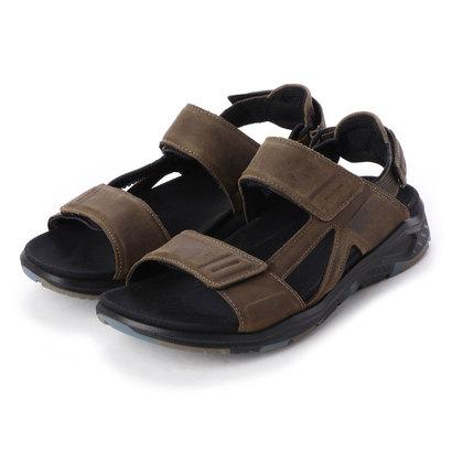 エコー ECCO Mens X-TRINSIC Flat Sandal (TARMAC)