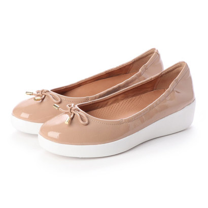 PATENT (Taupe) フィットフロップ SUPERBENDY fitflop