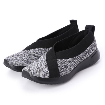 フィットフロップ fitflop ARTKNIT BALLERINA (Black Mix)