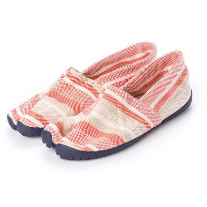 タビリラ たびりら [TBR-007] 足袋型コンフォート・シューズ たびりら (茜)