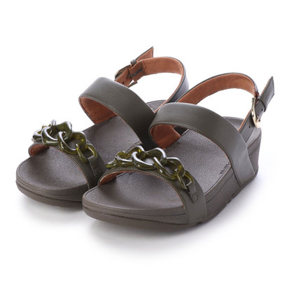 フィットフロップ fitflop LOTTIE TORTOISESHELL CHAIN (Avocado)