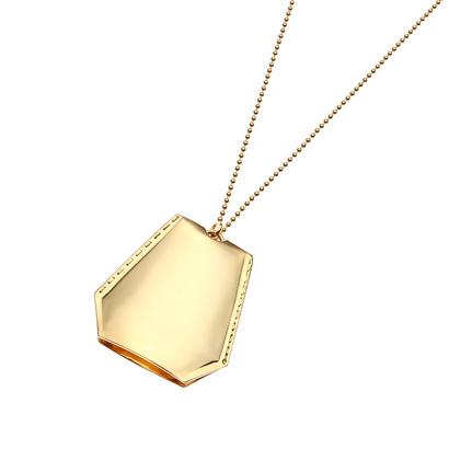 ドレスキップ DRESKIP WACCOWACCO(ワッコワッコ) メタルクロッシェットネックレス (ゴールド)