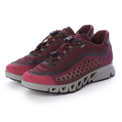 エコー ECCO Womens MULTI-VENT Outdoor Shoe (WINE/WINE)