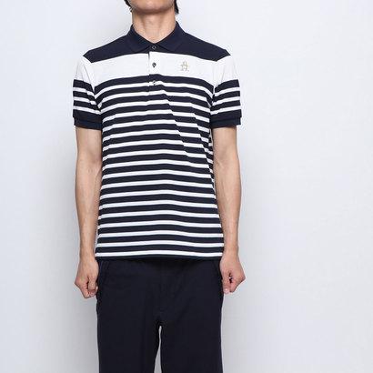 マンシングウエア Munsingwear メンズ ゴルフ 半袖シャツ ハンソデシヤツ(ニツト) MGMNGA11