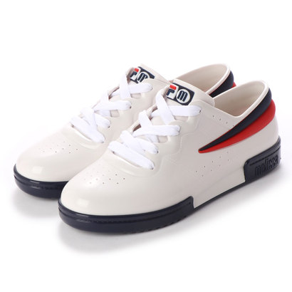 【アウトレット】メリッサ melissa Sneaker +Fila (WHITE)