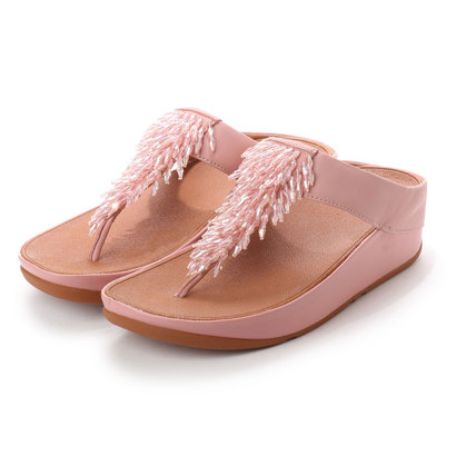 【アウトレット】フィットフロップ FitFlop RUMBA TOE-THONG SANDALS (Dusky Pink)