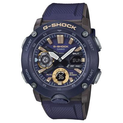 【G-SHOCK】カーボンコアガード / ミリタリーテイスト / GA-2000-2AJF (ネイビー)