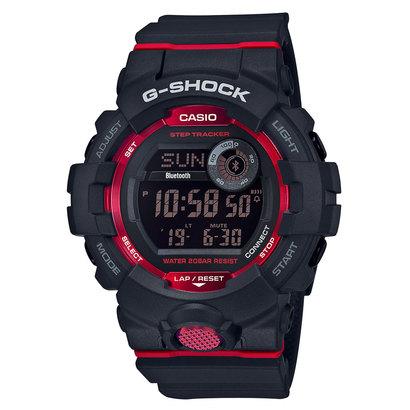 【G-SHOCK】G-SQUAD(ジー・スクワッド) / GBD-800-1JF (ブラック×レッド)